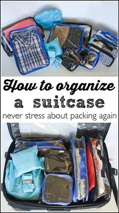 How to organize your suitcase and never stress about packing again | Ask Anna | #sponsored by EzPacking #ad