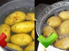 Brambory vařím skoro každý den, ale toto by mi nenapadlo ani ve snu: Zkuste to už dnes, když je budete vařit k obědu! Potatoes, Vegetables, Potato, Veggie Food, Vegetable Recipes, Veggies