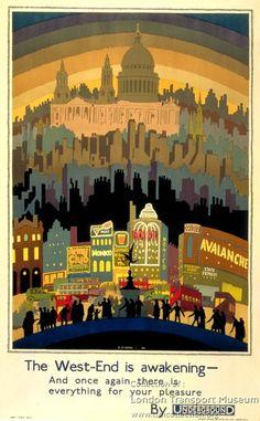 The West End is Awakening ~ Ernest Michael Dinkel