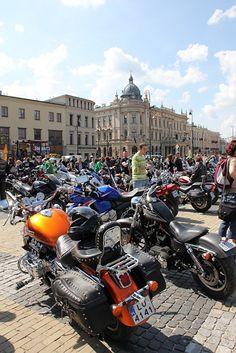 Lithuanian Square - Start of motorbike season in Lublin 2012