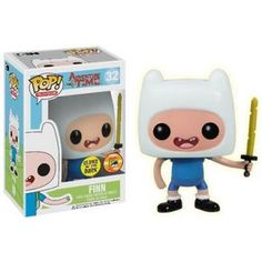 Funko Pop! Finn with Sword GITD, SDCC Exclusive, Hora da Aventura, Adventure Time, Cartoon, Funkomania
