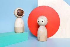 Avakai Twins - Intuitive Connected Wooden Toys by Vai Kai, Berlin // Art Direction: Katleen Roggeman, Photography: HEJM
