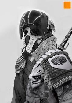 Creative Samurai, Robot, Fi, and Sci image ideas & inspiration on Designspiration Zbrush, Character Concept, Character Art, Science Fiction, Gundam, Arte Ninja, New Flame, 3d Figures, Sci Fi Armor