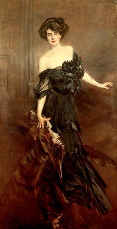 Giovanni Boldini, Mademoiselle De Nemidoff. 1908.