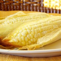 Perfect corn on the cob, without a grill! Oven-Roasted Corn on the Cob
