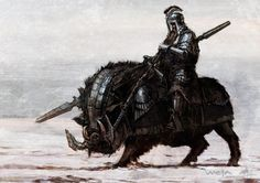 Dwarfish Battle Boar