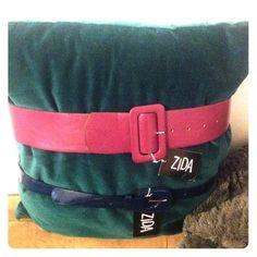 NWT Belt Bundle Purple wide band blue skinny band SO FUN! Zida Accessories Belts