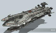 Making of Dreadnought by KaranaK