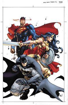 ArtVerso — Joe Madureira - Justice League