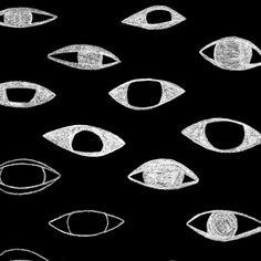 illustration, graphisme NB : oeil, graphique, Everywhere Yennefer Of Vengerberg, The Adventure Zone, Night Vale, A Series Of Unfortunate Events, Mystique, Illustration, Gif Animé, Noragami, Fullmetal Alchemist