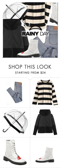 """""""Untitled #3289"""" by mada-malureanu ❤ liked on Polyvore featuring Cheap Monday and Saks Fifth Avenue"""
