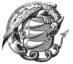 Ecsed hrad - Wikipedia Az ecsedi-láphoz több népmonda is fűződik, mely szerint hatalmas sárkány tanyázott az irdatlan mocsárban. Amit a Báthoriak egyik őse Opos vitéz ölt meg, emiatt került a családi címerbe a három sárkányfog[5] és a Sárkány Lovagrend jelvénye, a farkával nyaka köré tekeredő, azaz önmagát megfojtó sárkánykígyó, egy Uroborosz