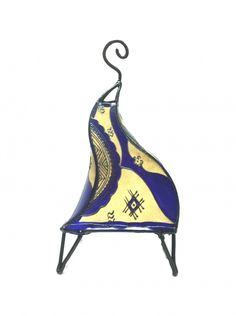 Moroccan Henna lamps -Dark Purple | Artsiya