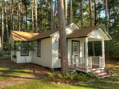 This guest Cottage offers two bedrooms, a bath, and comforable living area with a kitchenette and covered entry porch. Beautiful lake views too - for your guests who visit.  MLS #159803 - 1173 Wooded Ln, Eagle River, WI 54521