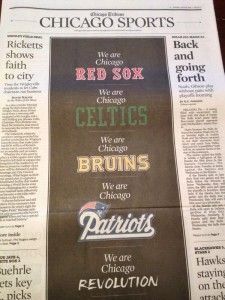 Hockey world shows its support for Boston after yesterday's tragedy at the Boston Marathon (via Bruins Daily)