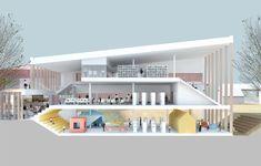 Biblioteka Bauskėje (en)   A2SM Architects