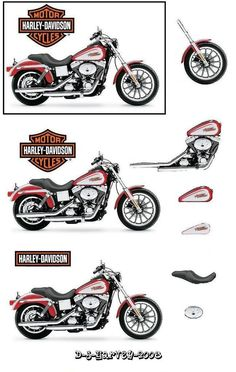 Harley - Projects to Try - Motorrad Image Moto, Comics Anime, Foto 3d, Decoupage Printables, Free Printables, Christmas Decoupage, 3d Sheets, Boy Cards, Fathers Day Crafts