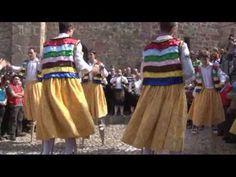 Anguiano, La Rioja.  Danza de los Zancos