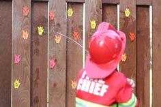 ABC Fireman Spray {Playdough to Plato}