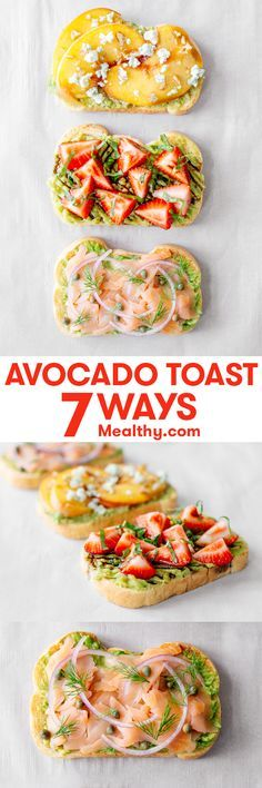 Just when it seemed like avocado toast was everywhere but your kitchen, here's a collection of ideas for making the ubiquitous menu item in the comfort of your own kitchen.