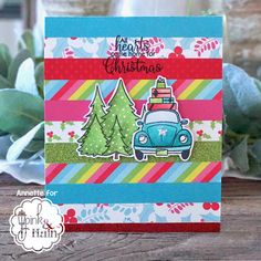 My Clever Creations: Pink and Main Release Day. Mary Christmas, Christmas Home, Christmas Cards, Best Free Email, Striped Background, Life Organization, Little Star, I Fall In Love, Paper Goods