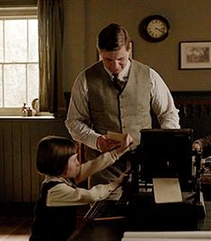 Downton Abbey Season 6 Tom and Sybbie...