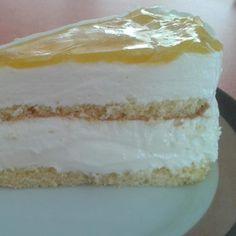 Rezept Maracuja-Frischkäsesahne-Torte von Lelchen - Rezept der Kategorie Backen süß