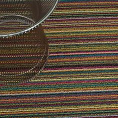 Buy Skinny Stripe Shag Floormat from Chilewich. The Chilewich Shag mats are tufted from durable vinyl yarns for a textured Outdoor Floor Mats, Indoor Outdoor Rugs, Outdoor Living, Contemporary Door Mats, Rubber Flooring, Area Rug Runners, Bold Stripes, Carpet Runner, Bright