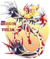 Primal Groudon X Yveltal by Seoxys6