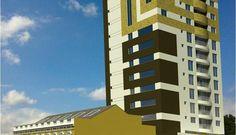Edifício Primus, Rua Riachuelo, 222, Centro, Curitiba. Patrimônio Histórico de Curitiba: revitalização da fachada histórica. RP Corretor de Imóveis.