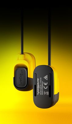 Details we like / remote / Yellow / Consumer electronics / at Wed'ze / Bluetooth remote control by Johann Grandemange, via Behance