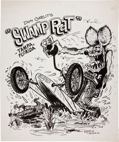 Rat Fink and Don Garlits