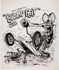Rat Fink and Don Garlits