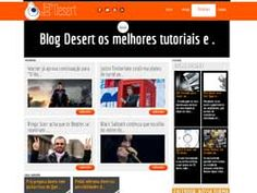 Blog desenvolvido para o estudio de áudio Desert Studio