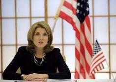 4月24日、キャロライン・ケネディ駐日米国大使は、米メディア各社とのインタビューで、2016年の次期米大統領選にヒラリー・クリントン前国務長官が出馬するなら支持すると表明した。23日代表撮影(2014年 ロイター) ▼25Apr2014Reuters|ケネディ米大使がヒラリー氏への支持表明、次期大統領選「出馬」なら http://jp.reuters.com/article/worldNews/idJPKBN0DB01320140425 #Caroline_Kennedy