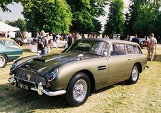 Belgian Dandy - Aston Martin DB5: The Shooting Brake version