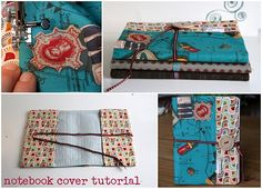 How to cover a notebook tutorial...scroll down to find it.