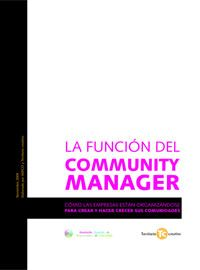 La función de #Community Manager #eBook @Territorio creativo