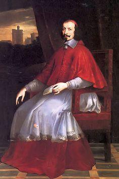 Mazarin (1602-1661)was de 1e minister van de koning. Hij had veel macht want de bourgeoisie stond achter hem. Hij werd een soort vader figuur voor Lodewijk. Hij leerde hem te regeren volgens het absolutisme; hij moest iedereen wantrouwen, hij moest zelf de touwtjes in handen hebben en na Mazarin mocht hij geen 1e minister meer hebben en hij moest zich compleet moet focussen op de politiek en de staat.
