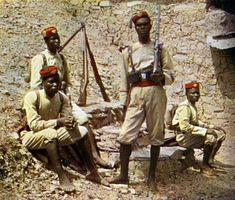 Togoland was the only West African colony with no army to defend it. The only force it had was the military police force which consisted of 2 German army officers, 6 German policemen and 560 African personel. World War One, Second World, First World, German East Africa, West Africa, Colonial, Adventure Aesthetic, Global Conflict, Military Police