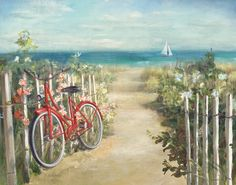 Beaches, Paintings and Prints at Art.com