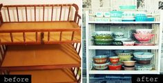 I have this same changing table.  What a fantastic example of repurposing - someday!