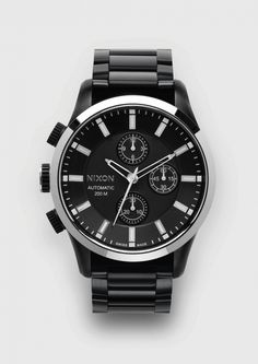 Nixon Goes Upscale With Its Automatic Chrono LTD Watch