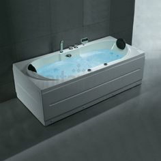 Details zu Design Luxus Whirlpool Badewanne Wanne Pool Spa Acryl ...
