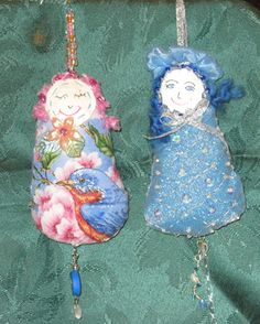 Winter and Spring Dotee Dolls