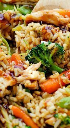 Easy Casserole Recipes, Casserole Dishes, Casserole Kitchen, Teriyaki Chicken Casserole, Chicken Rice, Cracker Chicken, Chicken Enchiladas, Lemon Chicken, Teriyaki Chicken Recipes