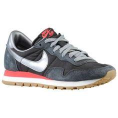 Nike Air Pegasus 83 - Women's - Black/Anthracite/Fusion Red/Metallic Cool Grey