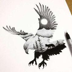Bird Tattoo Concept - Tattoo Shortlist