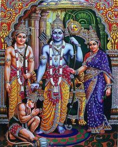 In the regeneration and divinisation of man: Referring to slogans which called for war for dest. Hindu Shiva, Shiva Shakti, Hindu Deities, Krishna Art, Hanuman Photos, Hanuman Images, Sri Ram Image, Shree Ram Images, Lord Sri Rama