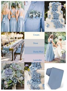 Planning a lovely spring or summer wedding. These soft colors are perfect for the romantic bride! wedding colors september / fall color wedding ideas / color schemes wedding summer / wedding in september / wedding fall colors Wedding Ceremony Ideas, Wedding Scene, Wedding Receptions, Reception Table, Summer Wedding Colors, Wedding Ideas Blue, Baby Blue Wedding Theme, Periwinkle Wedding, Blue Wedding Flowers